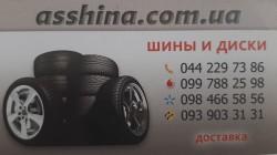 Интернет магазин шин в Киеве Asshina
