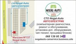 СТО Nogal-Auto Автоэлектрик Авторынок Победа Одесса